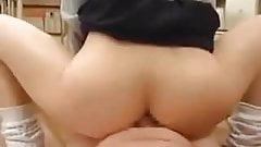 Asian enjoying cock