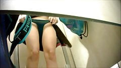Hot Babes in Pool Cabin - Spy Cam Clip 2