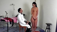 CMNF - Schoolgirl stripped and spanked by doctor