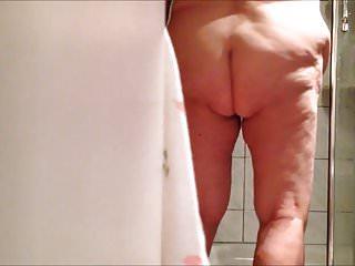 BBW grandma 86 after the shower part 2
