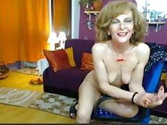 Amazing Gilf On Webcam