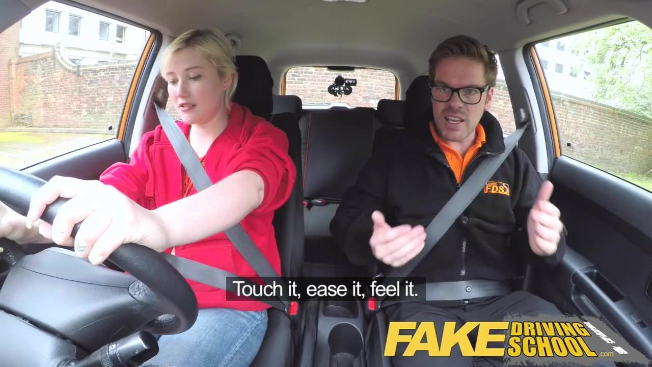 Cassidy Klein Fake Driving