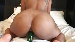 Ex GF takes huge cucumber