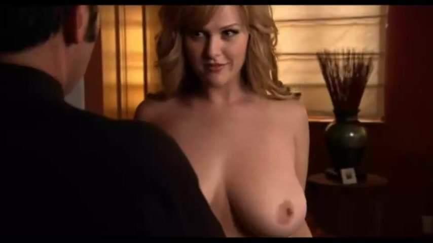 Sara rues nipples bare tits