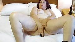 Aunt Sue black pantyhose strip's Thumb