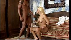 Beautiful blonde latina hottie gets fucked in her butt hole