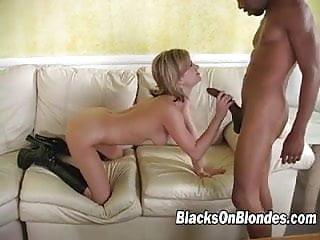 Typical black cock slut Alex Divine takes monster cock