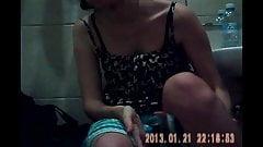 hidden shower sister's virgin friend-2