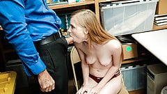 ShopLyfter - Cute Teen Caught Stealing Blows LP Officer's Thumb