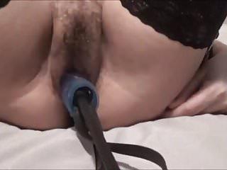Italian milf viola fucked by two dildos