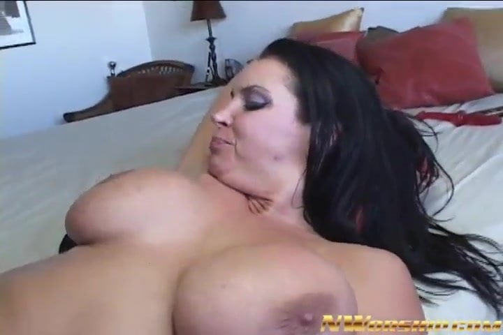 Busty milf anally satisfied