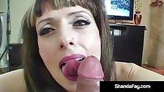 Titty Fucking Cougar Shanda Fay Gets Boob Banged!