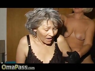 OmaPasS Horny Matures Lesbian Porn Footage