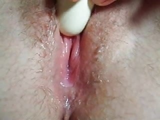 Wet Pussy- Creamy Masturbation close up, nice contractions!