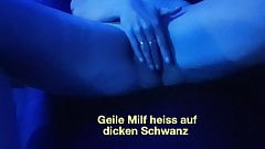 Hot Milf weit for a dick