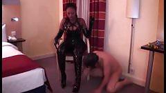 Black mistress & white slave