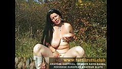 real euro amateur big tits street casting