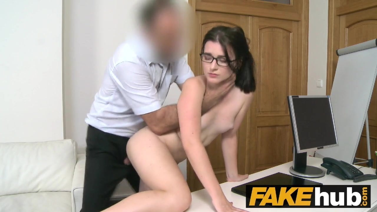 Porn casting couch auditions by fake casting agents!