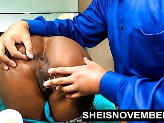 Sheisnovember Orgasm Ebony Pussy On Finger Fucking & Big Ass