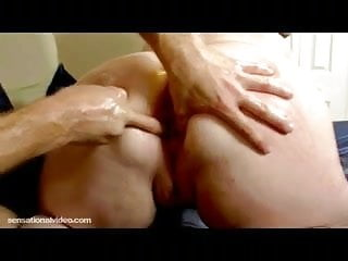 Huge Tit MIlf Gets Fat Pussy Slapped Gaped and Fucked