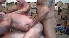 grote lul in strakke gay ass