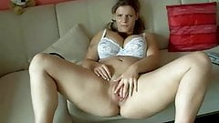 CUte Chubby Teen GF spreading her big pumper pussy lips