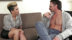 TOUGHLOVEX Della Dane makes a visit to Doctor Karl