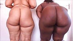2 big brown asses