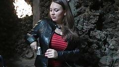 Smoking Girl With Huge Tits