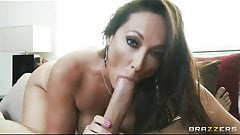 Brazzers - Horny brunette wife Michelle Lay daydreams