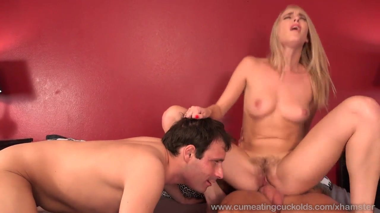Ember Stone Makes Hubby Eat The Cumshot From Her Hairy