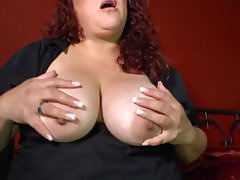 Chubby mature mother with hungry old cunt