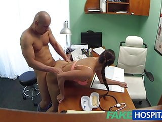 FakeHospital Hot nurse prescribes fucking for muscle enhance