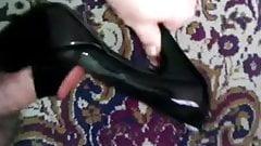Fucking Black Platform Sandals Size 38