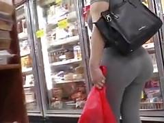 Grey Leggings VPL Latina