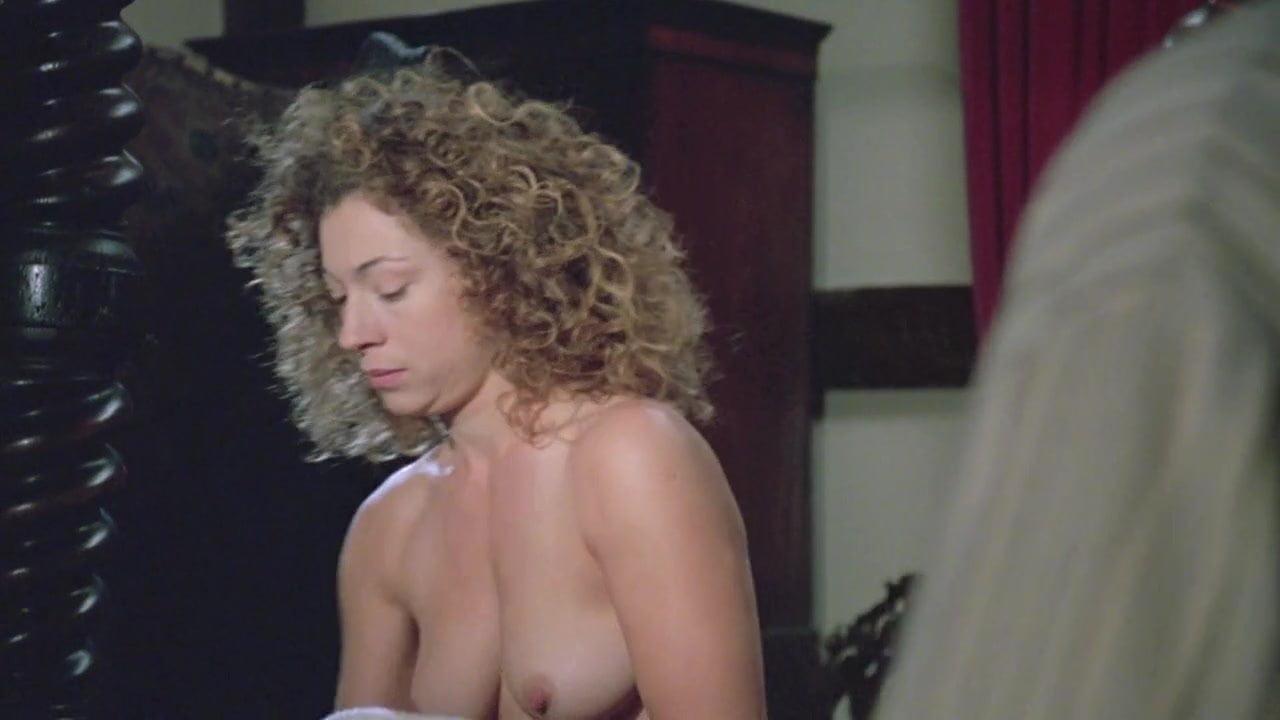 alex kingston boobs