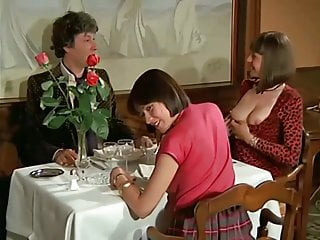 Group Sex Around A Table