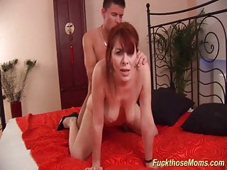 redhead hairy mature rough fucked