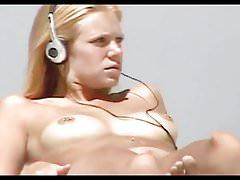 Nude Beach - Blond Pierced Little Teen's Thumb