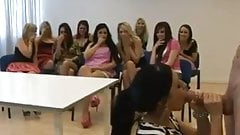 Sucking cock at a bachelorette party