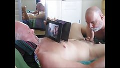 Poppered a hole plugged plumber gets cock pumped popped