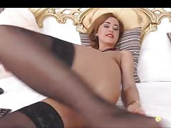Saggy Milf Webcam Whore Fucks Her Asshole