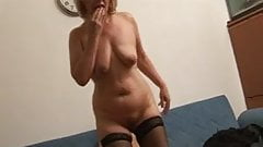 Sexy plump mature woman