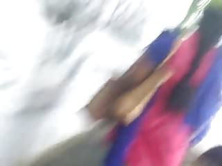 Tamil Aunty walking- sexy ass shaking