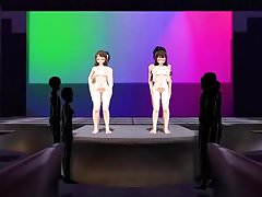 MMD sex on stage