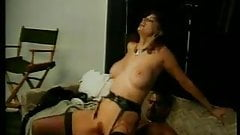 Brunette milf slut whore loves to get her pussy fucked by hard brown dick
