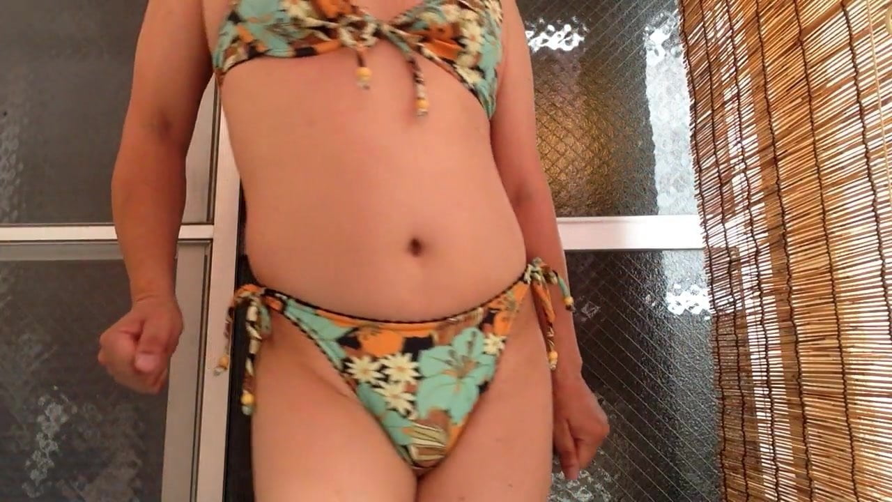 crossdresser bikini Swimwear