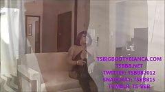 SHEMALE PORNSTAR TS BIG BOOTY BIANCA FUCKS SEX-SLAVE TWINK !