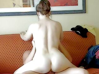 Mom riding Ken's cock in our hotel room