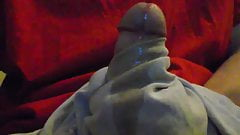 Gushing Bursts of Precum Over and Over